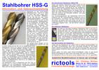 Stahlbohrer HSS-G