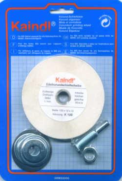 Kaindl Edelkorund-Schleifstein für die Bohrmaschine