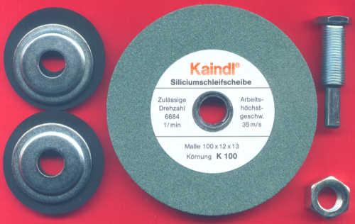 Kaindl Siliciumcarbid-Stein komplett mit Bohrmaschinen-Aufnahme