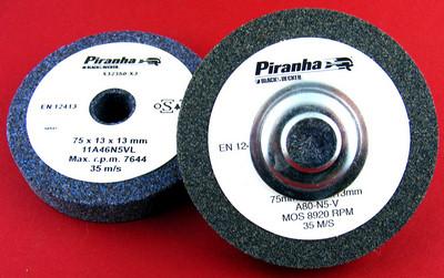 Piranha by BLACK+DECKER Korund-Schleifsteine für die Bohrmaschine